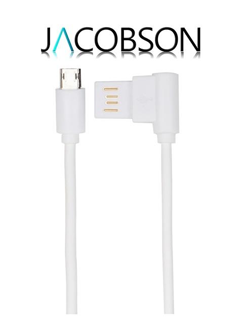 Jacobson J4 Android Uyumlu USB Şarj ve Data Kablosu Beyaz